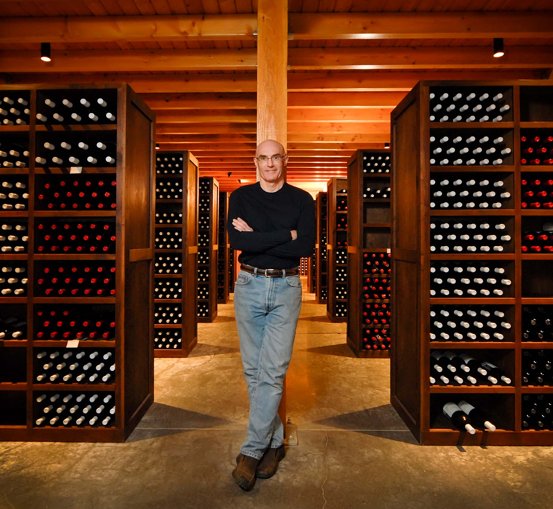 Rick Small, Owner & Director of Production Woodward Canyon Winery