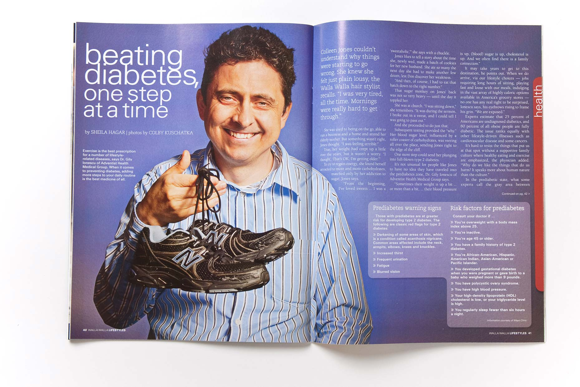Pre-Diabetes Article in Lifestyles Magazine