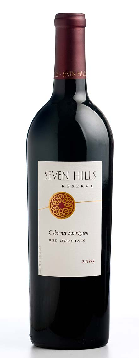 Bottle Shot for Seven Hills Winery