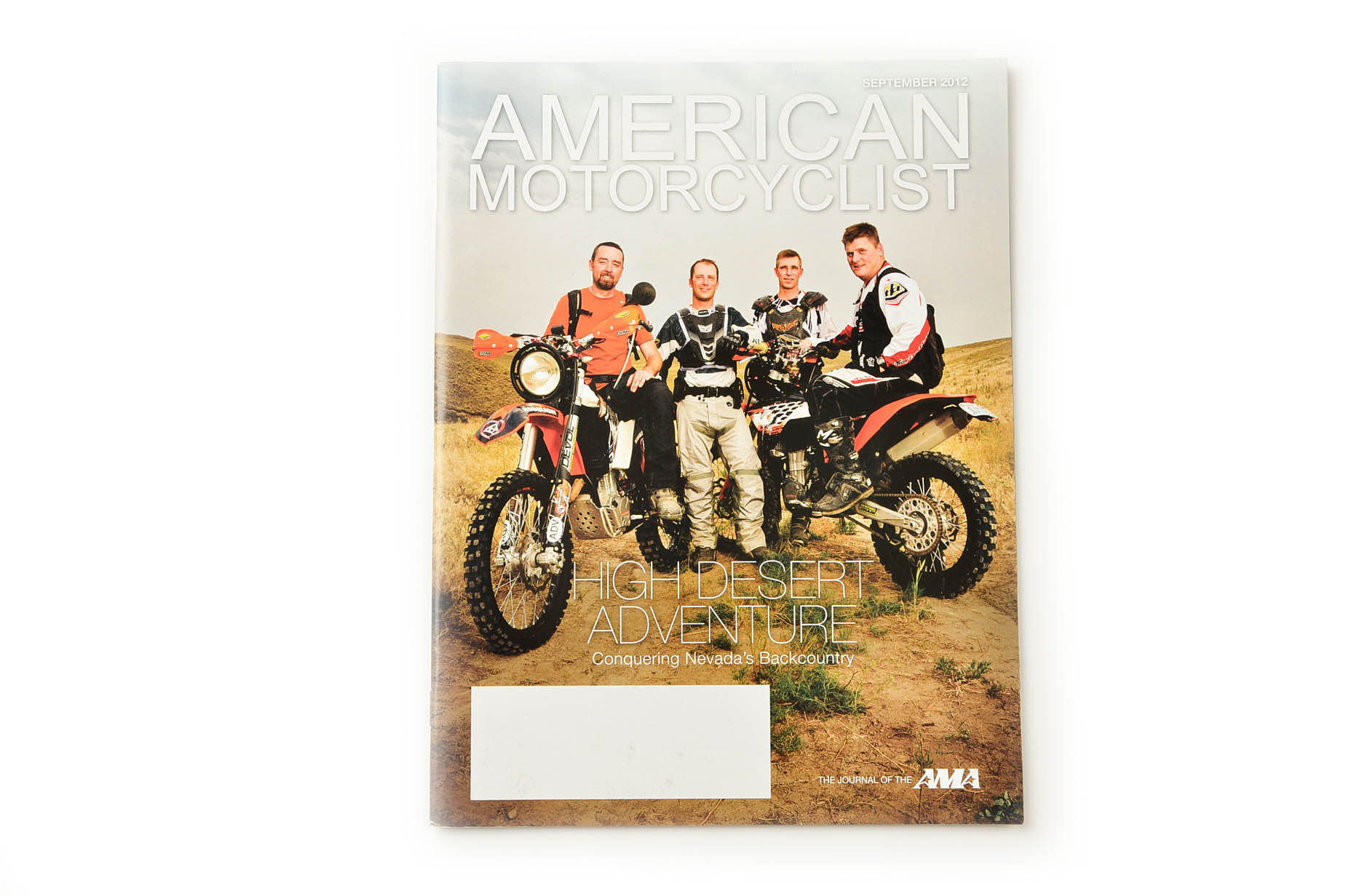 Cover image for American Motorcyclist Magazine