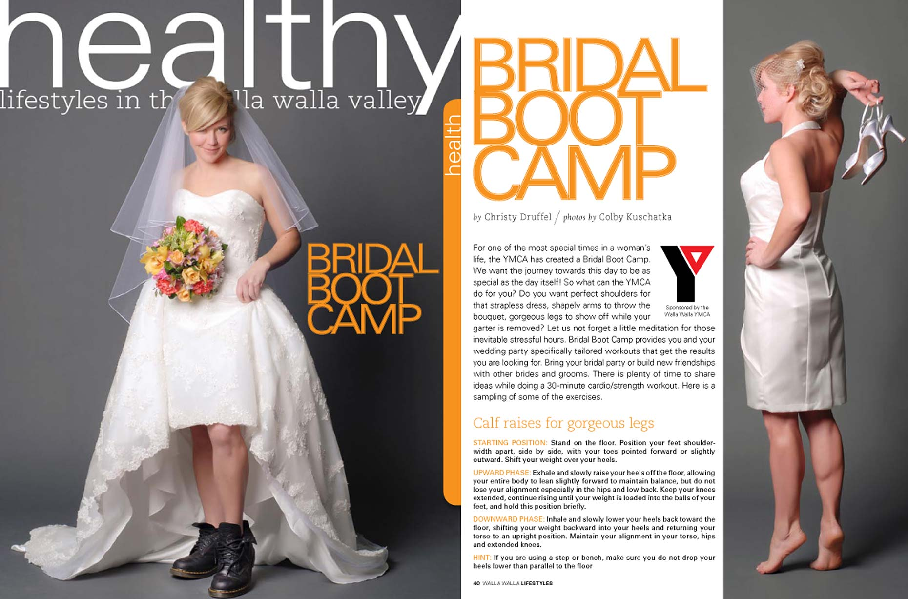 Advertorial for the Walla Walla YMCA