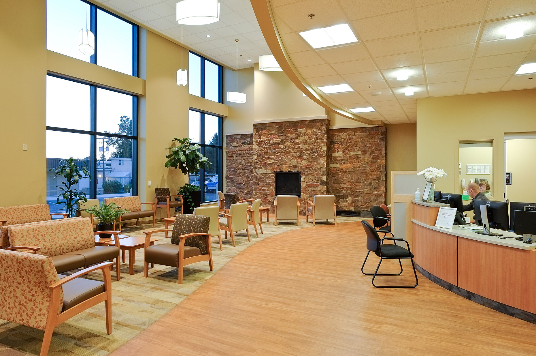 ER Waiting Area Walla Walla General Hospital
